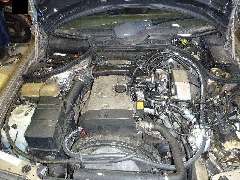 W124-E200 Einbau LPG Gasanlage M111 KME Diego G3